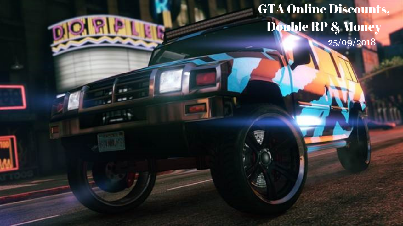 GTA Online 25/09/2018 The Mammoth Patriot and Chariot Romero Hearse